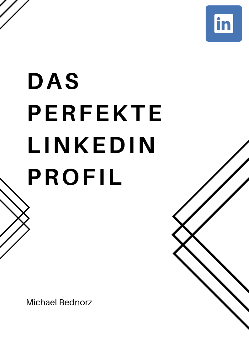 Bild E-Book Cover Freebie Linkedin Checkliste